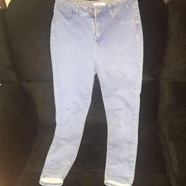 Blue Denim Supre Jeans