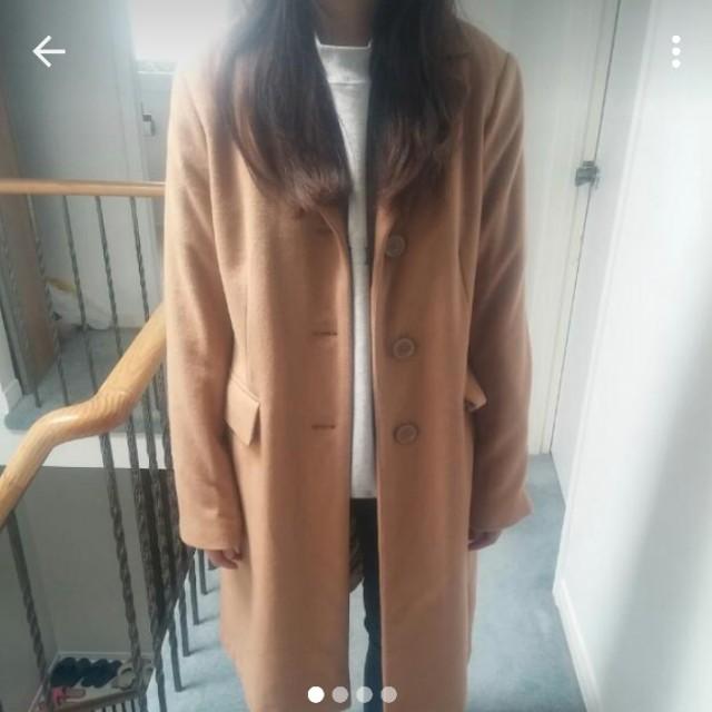 BNWT Camel Coat Size 6