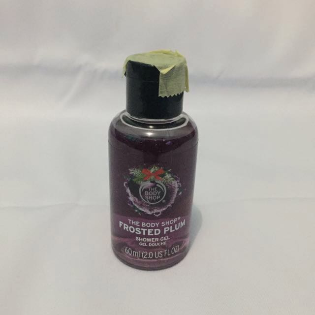 BODY SHOP Limited Edition Shower Gel Frosted Plum