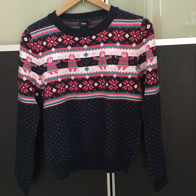 Brand New Asos Christmas Sweater size UK 4