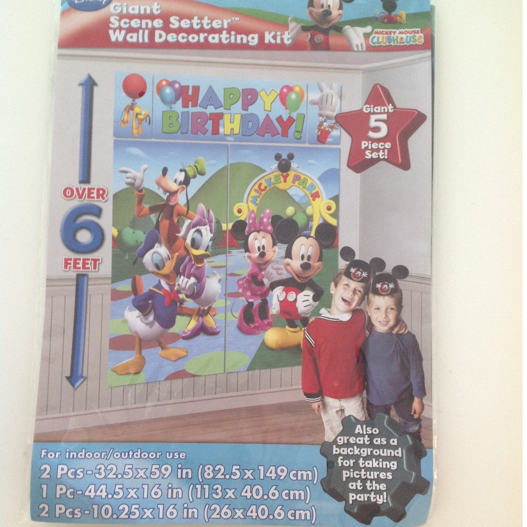 Brand New Mickey Mouse Party decorations