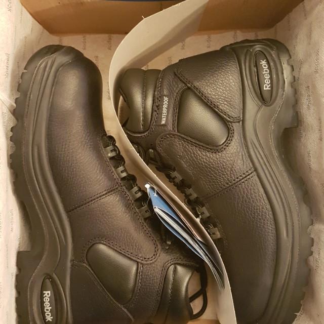 Brand new Reebok work boots Men's size 7W, Women's size 9W