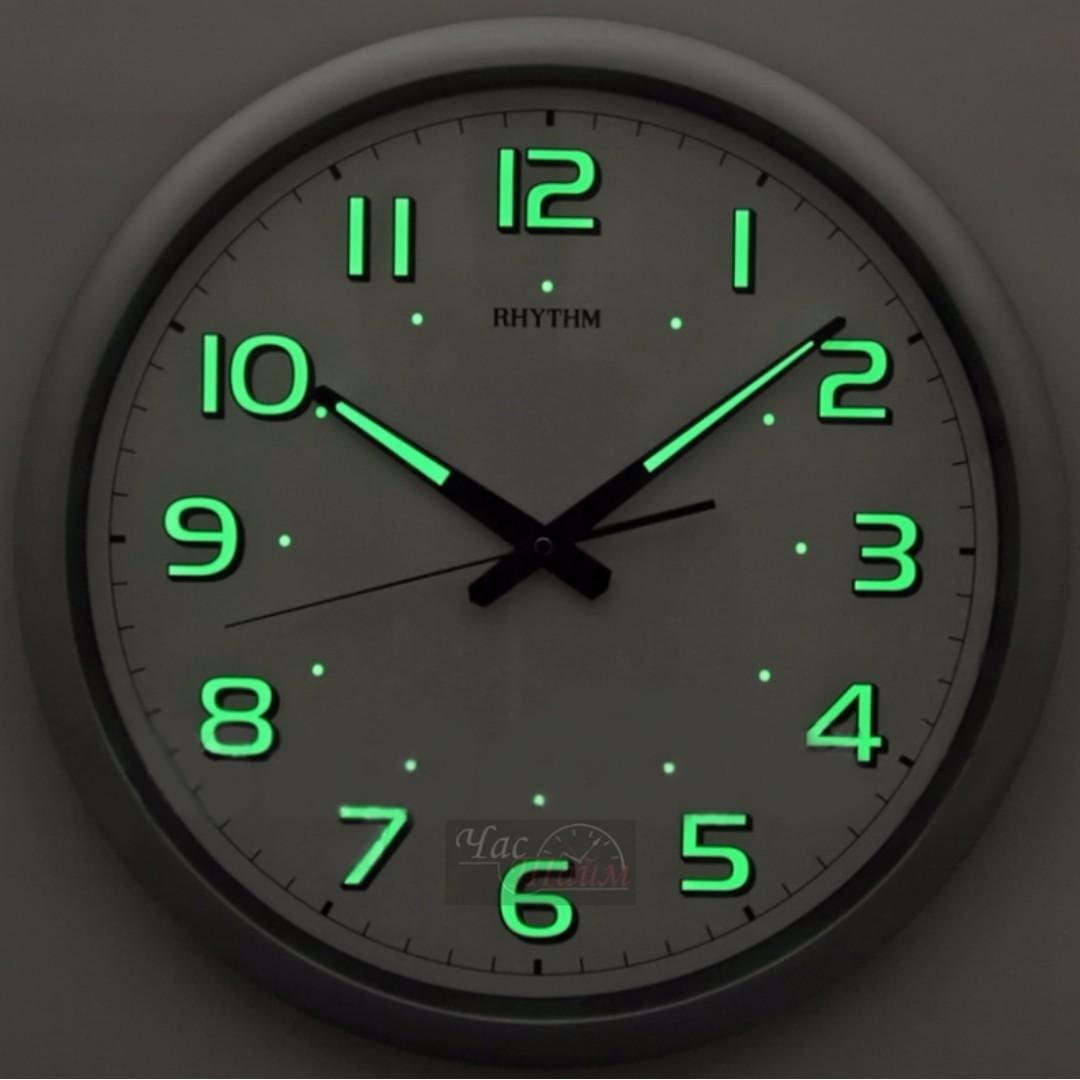 Brand new rhythm cmg805nr19 40cm wall clock with luminous home brand new rhythm cmg805nr19 40cm wall clock with luminous home furniture home decor on carousell amipublicfo Images