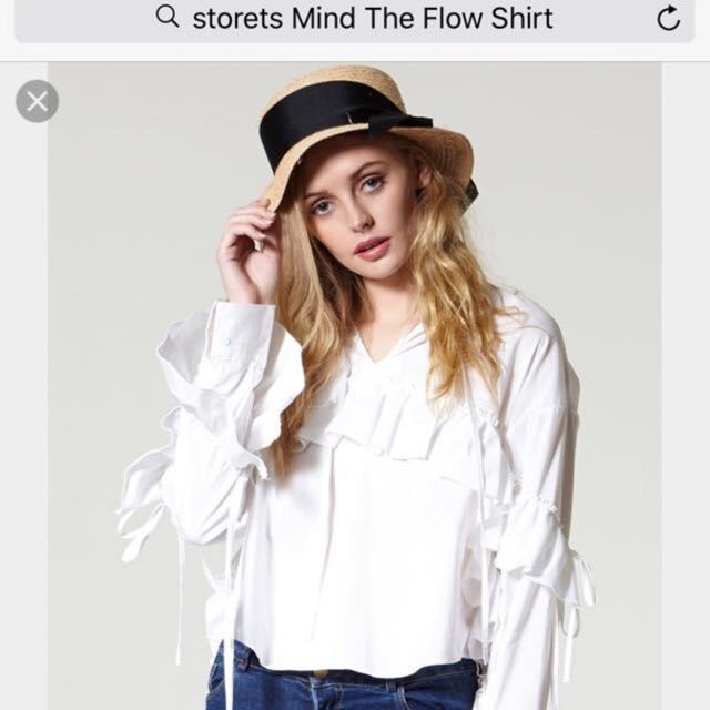 Brand New with tags STORETS Mind The Flow Shirt