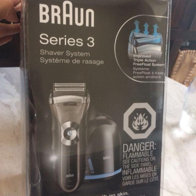 Braun 3 series shaving system (brand new)