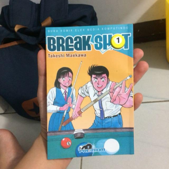 Breaks shot