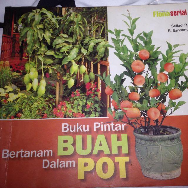 Buku panduan bertanam buah di dalam pot