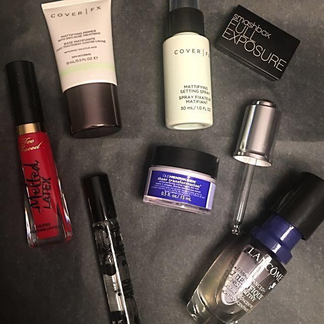 Bundles of Sephora products!