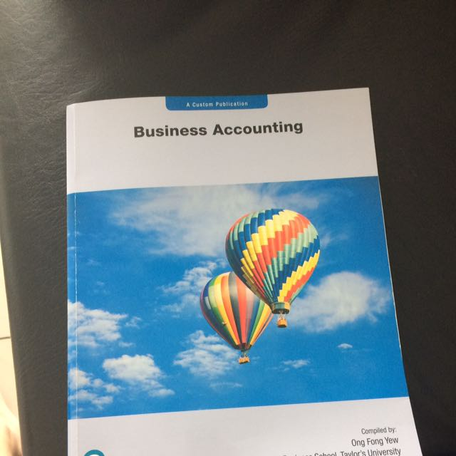Business Accounting Pearson