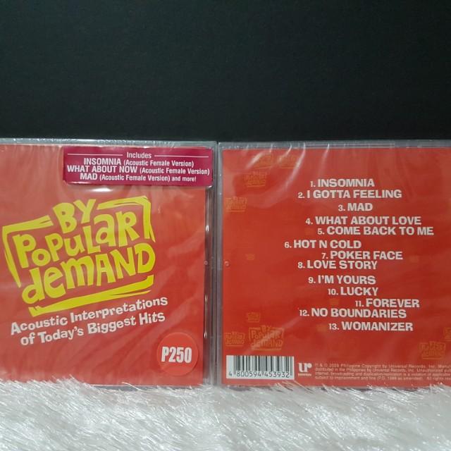 By Popular Demand CD