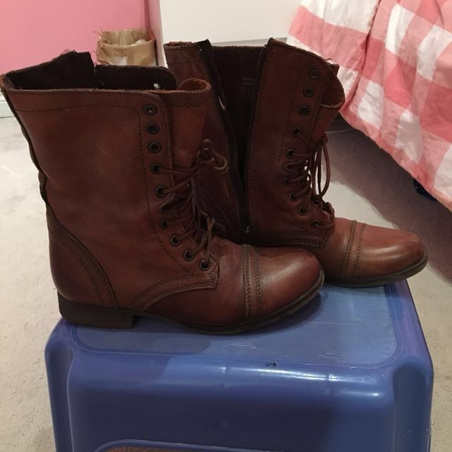Call-it-Spring 'Rustic' Combat Boots