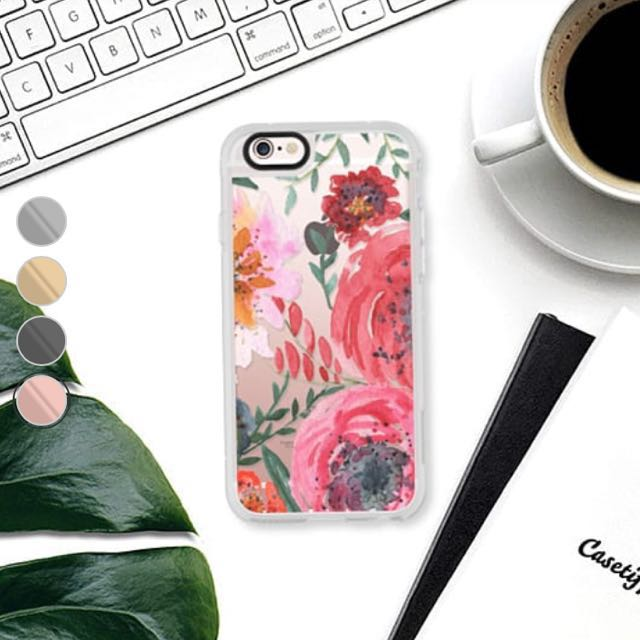 sports shoes 39437 666f5 Casetify Floral Case For IP6s