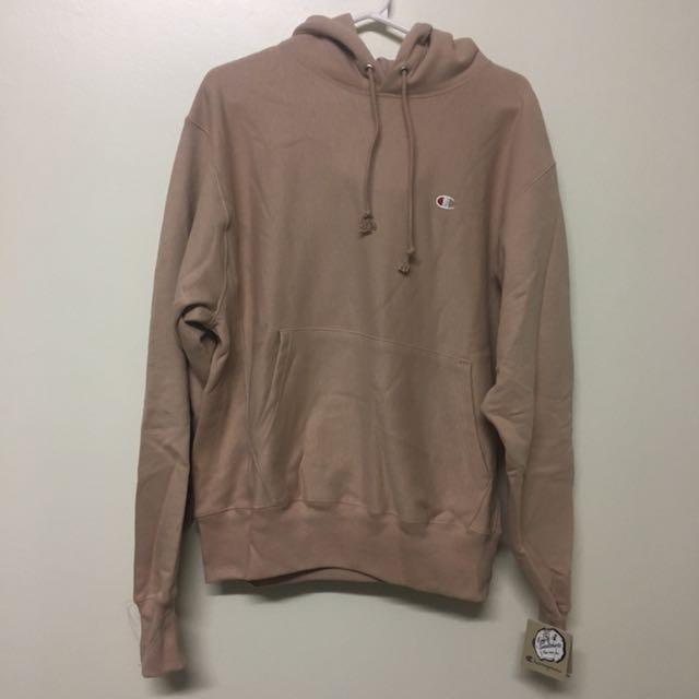 Champion Reverse Weave Hoodie Sweatshirt ROSE