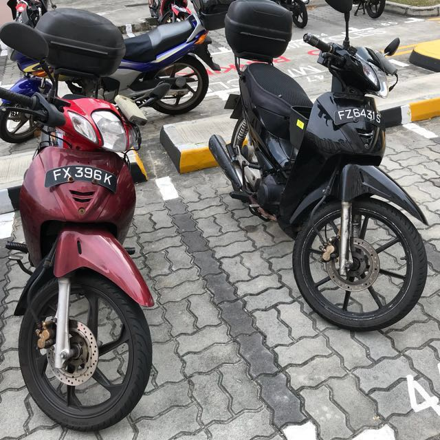 Cheapest Bike Rent Honda wave