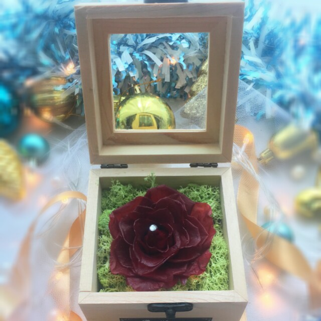 Christmas Special Collection Exclusive Gift Box Red Wine Color