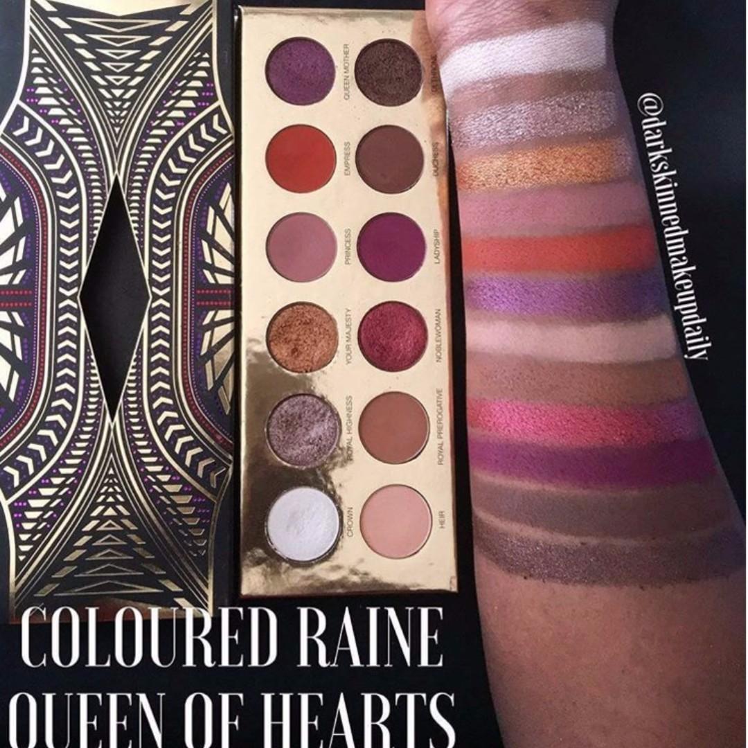 Coloured Raine - Queen of Hearts- Eyeshadow Palette