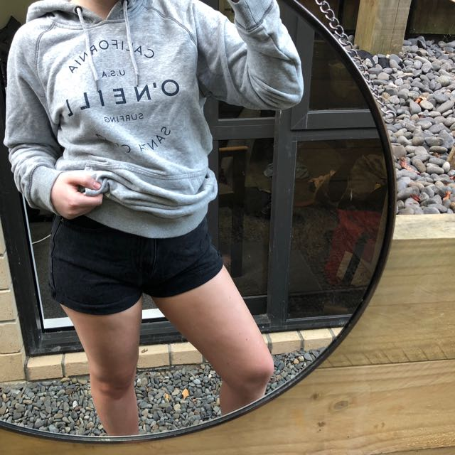 comfiest grey hoodie
