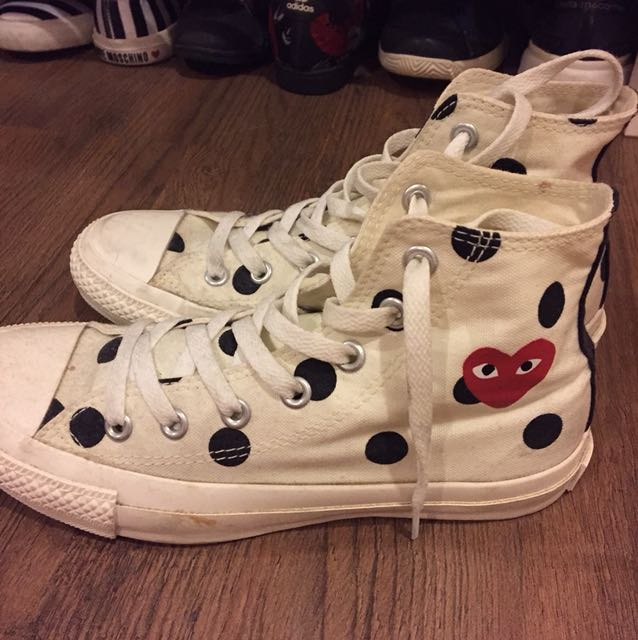 Converse x CDG high top sneakers