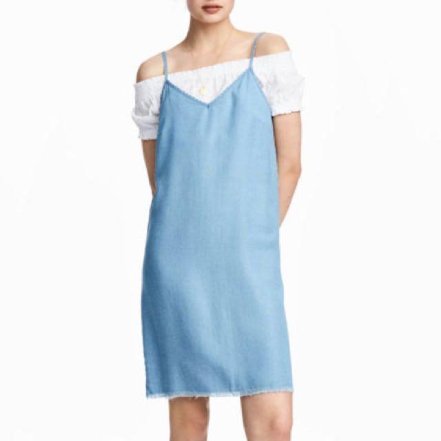 Denim Tank Dress