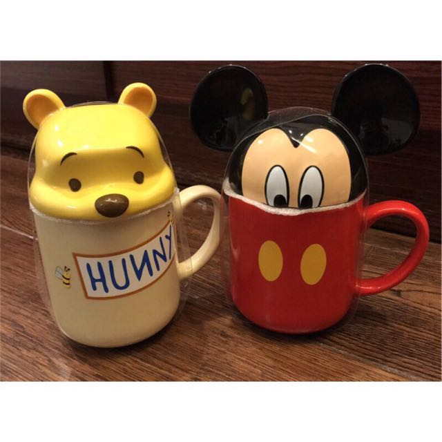 Disney 迪士尼 米奇 Mickey 杯蓋馬克杯