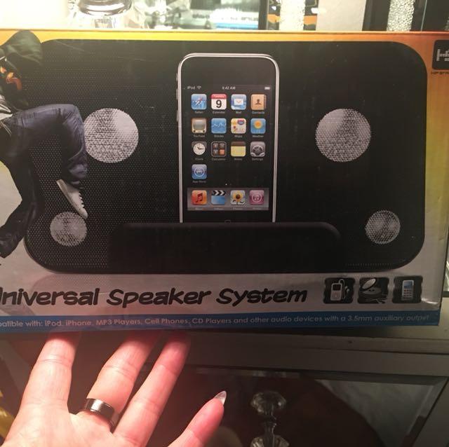 Docking speaker