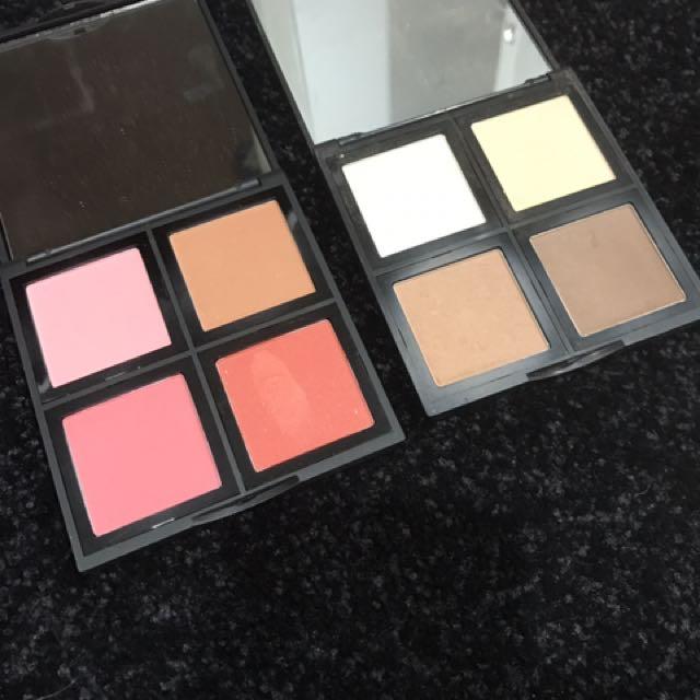 Elf blush and contour palette