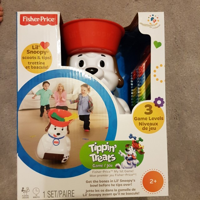 Fisher-Price - Lil' Snoopy Tippin' Treats Game