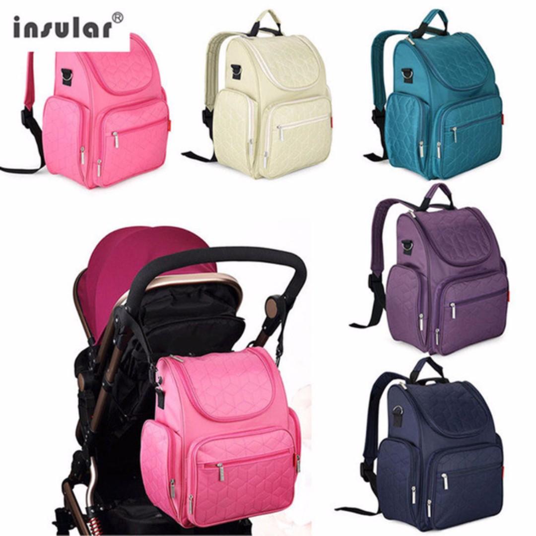 🔥FLASH SALE 🔥Insular Mummy Diaper Bag Backpack