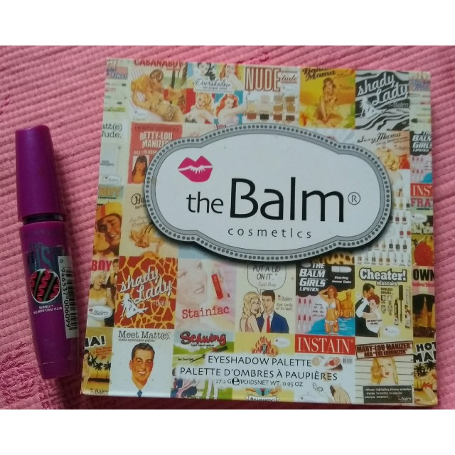 FlashSale Eyeshadow The Balm + Mascara Maybelline