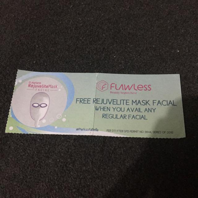 Flawless Facial Voucher