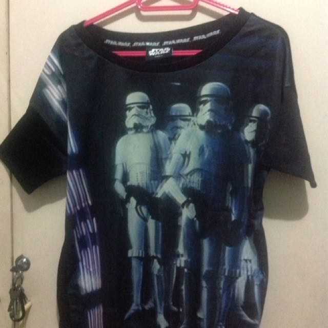 Folded & Hung - Stormtrooper top