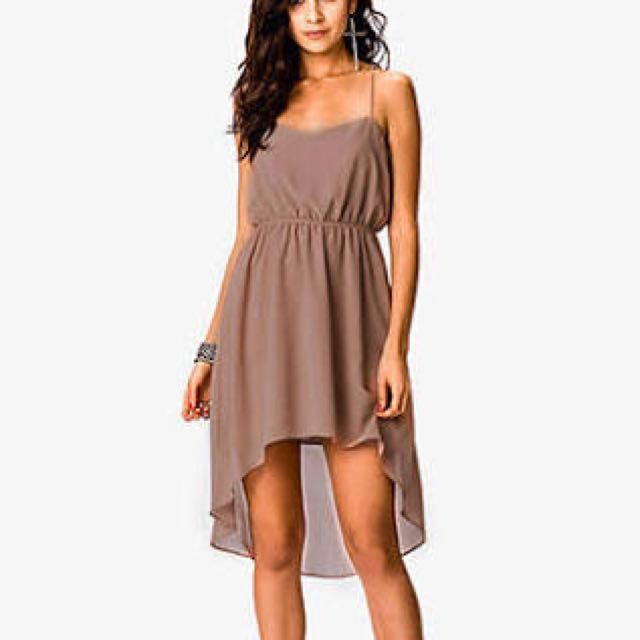 Forever 21 Brown High Low Size M-L