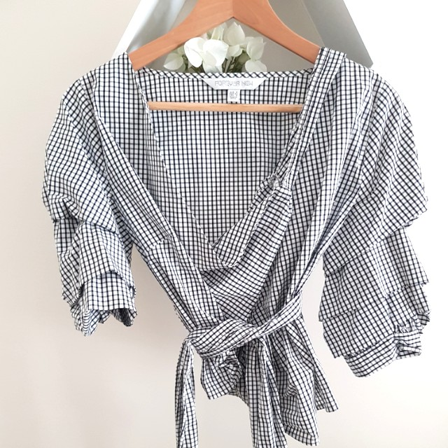 Forever New Wrap Top
