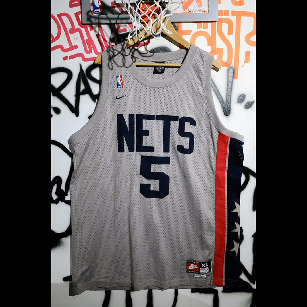 Fresh Loots / NBA Jason Kidd  紐澤西 籃網 Nike Vintage 球衣