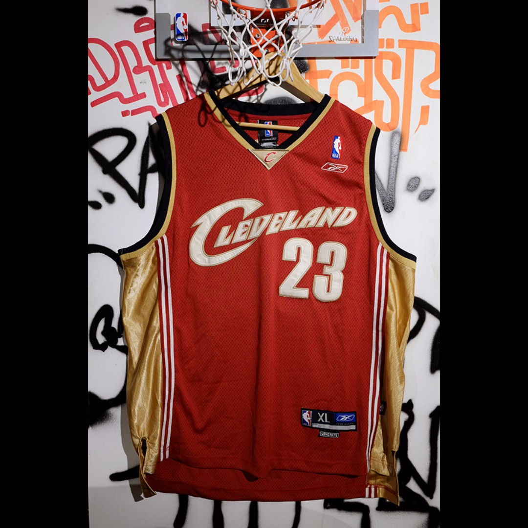 Fresh Loots / NBA Lebron James 騎士隊 復古 球衣 Vintage