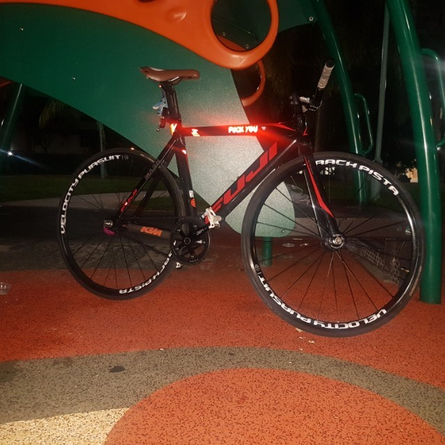 Fuji Track Pro 2 0 2016 wtt with other fixie,fixed gear or