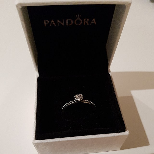 Genuine Pandora Ring Size 54