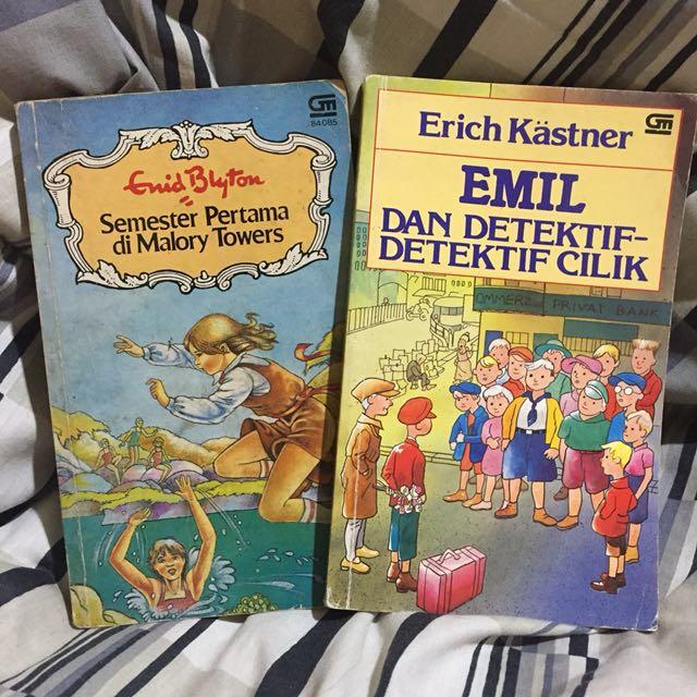 [GET 2] Novel Enid Blyton dan Erich Kästner