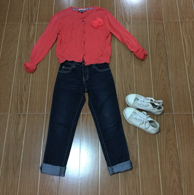 Girls Set including shoes for 8-9yrs old