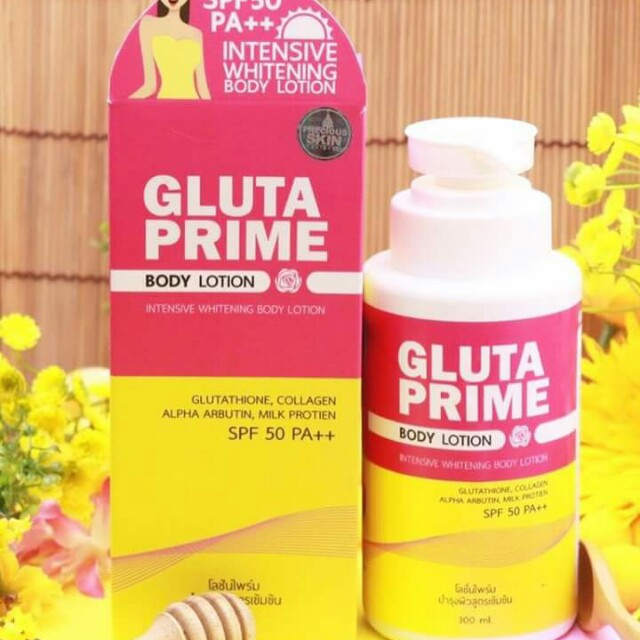 Gluta Prime Body Lotion