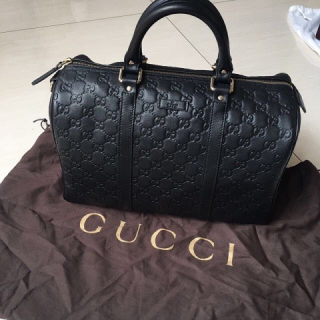 Gucci bag boston