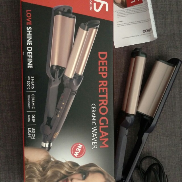 Hair curler ceramic