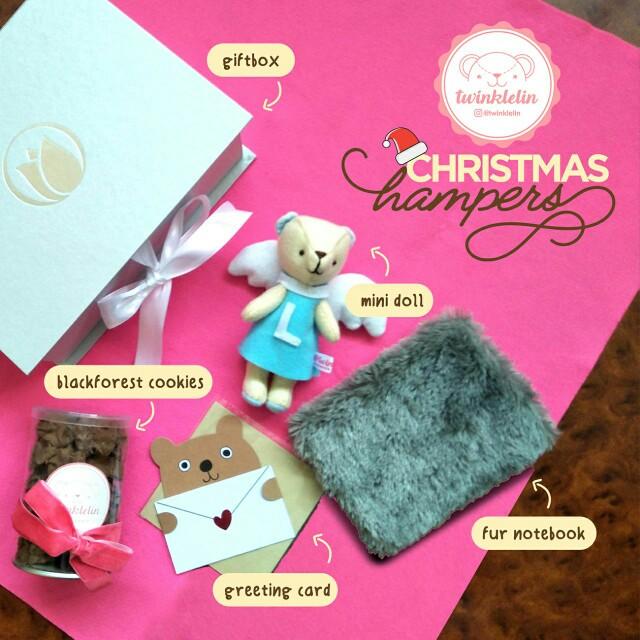 Hampers Cookies + Doll