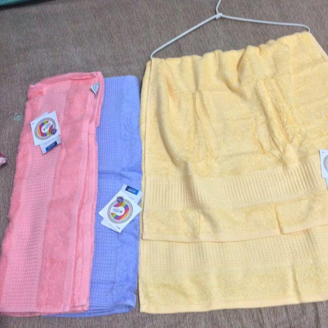 Handuk Terry palmer (ada tiga warna)