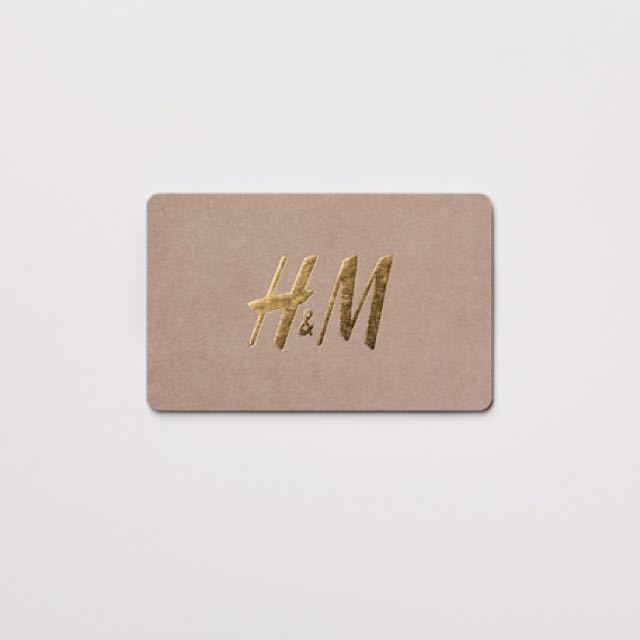 H&M $65 gift card