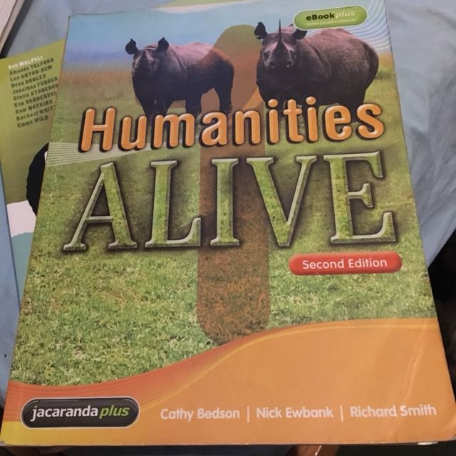 Humanities Alive 1 second edition