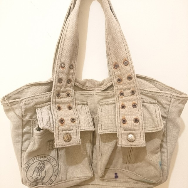 Hush puppies canvas bag