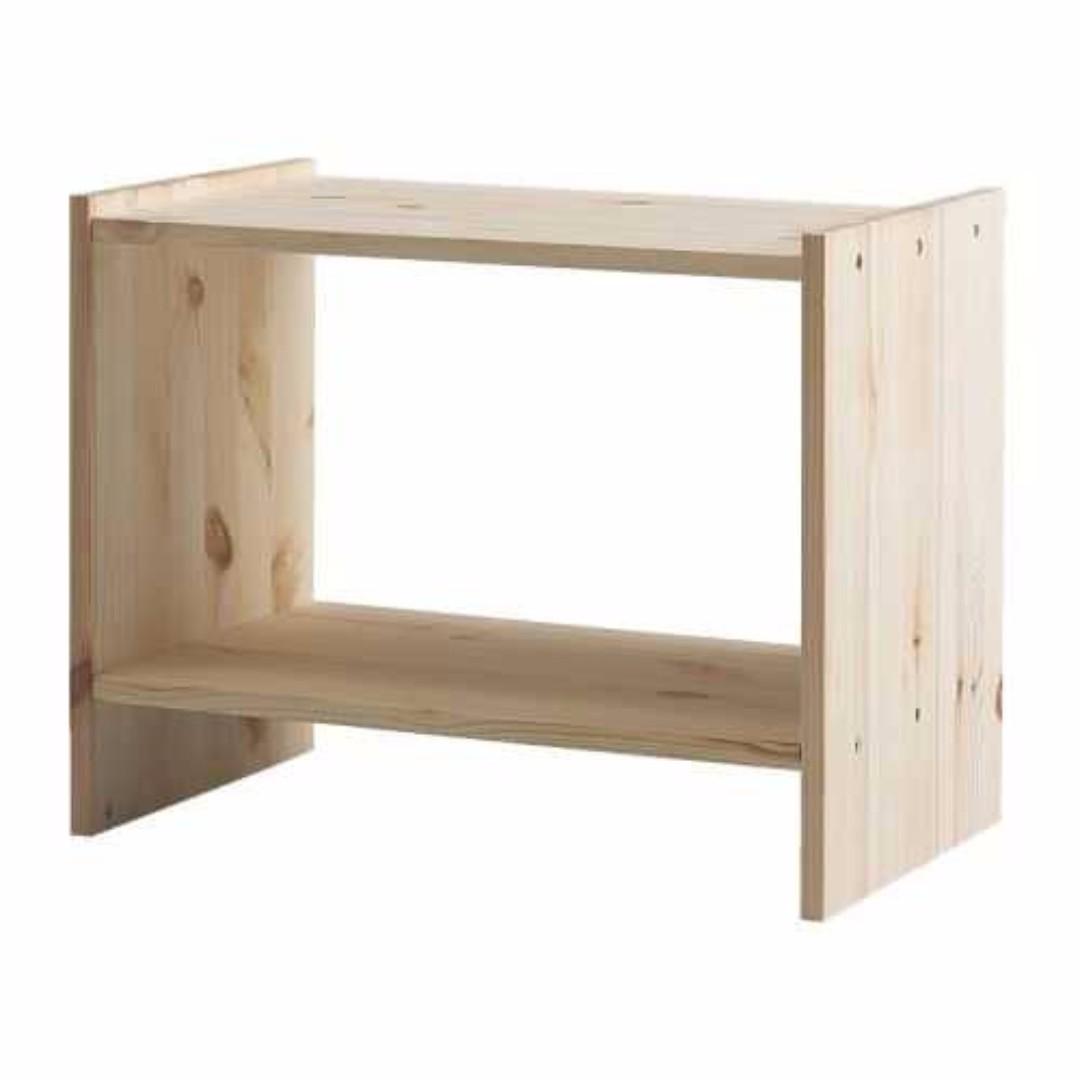 Ikea Rast Meja Kecil Serbaguna Uk 52×40 Cm Kayu Pinus Solid  # Meuble Tele Au Mur Ikea