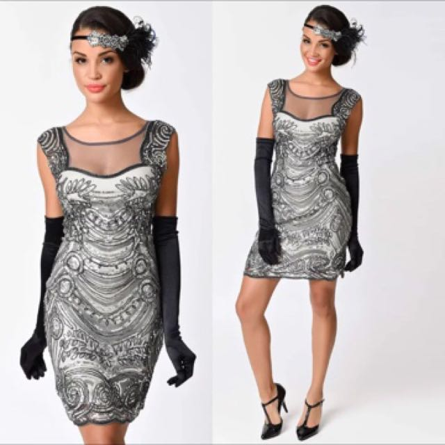 IN STOCK Great Gatsby Costume Gown 1920s costume flapper dress ...