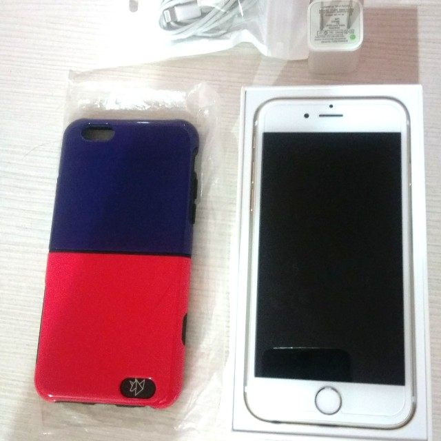 ★iPhone6 16G ☆ gold金色盒裝★